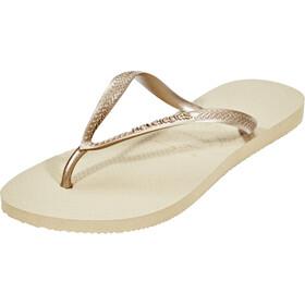 havaianas Slim Sandali Donna, beige